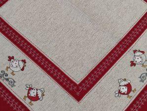 Καρέ Λινό Κοτοπουλάκια 89×89