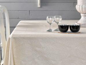 (Σετ) Πετσέτες Κουζινας 4 Τμχ. Palamaiki Henna Ivory