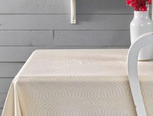 (Σετ) Πετσέτες Κουζινας 4 Τμχ. Palamaiki Sally Ivory