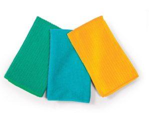 Σετ Ποτηρόπανα 3 Τεμαχίων Nef-Nef Chrome Yellow-Petrol-Green
