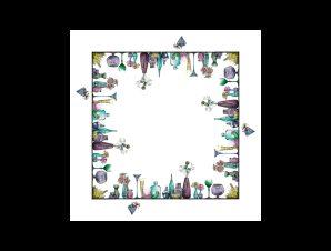Τραπεζομάντηλο Anesis Murano 160×160