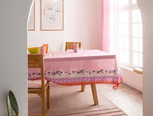 Τραπεζομάντηλο Gofis Home Eris 145×220 Ροζ 540/17