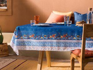 Τραπεζομάντηλο Gofis Home Eris 145×220 Blue Jean 540/09