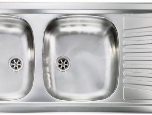 Νεροχύτης Sanitec Mondial 2VR