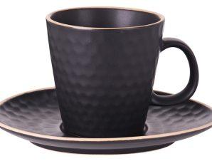Φλυτζάνι πιάτο τσαγιου Stoneware