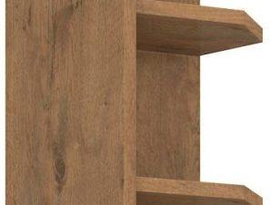 Επίτοιχο ντουλάπι με ράφια Virgo 30 γωνιακό