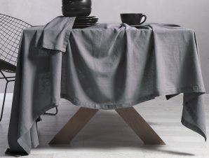 Τραπεζομάντηλο 150×250 Nef Nef Cotton-Linen Grey