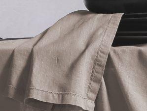 Πετσέτες Φαγητού 50×50 Nef Nef Cotton-Linen Beige