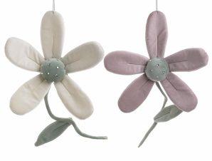 Διακοσμητικό Λουλούδι Σετ 2τμχ Υφασμάτινο inart 15x5x34εκ. 3-70-146-0406 (Χρώμα: Μωβ) – inart – 3-70-146-0406