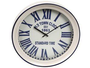 Ρολόι Τοίχου ESPIEL 43x7x43εκ. LOG527 – ESPIEL – LOG527