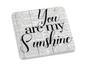 """Σουβέρ Σετ 6τμχ """"Sunshine"""" ESPIEL 9,5×0,45×9,5εκ. NIK316 – ESPIEL – NIK316"""