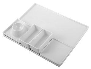 Δίσκος Σερβιρίσματος Σούσι 28,4×18,2×5,2εκ. ESPIEL LV109 – ESPIEL – LV109