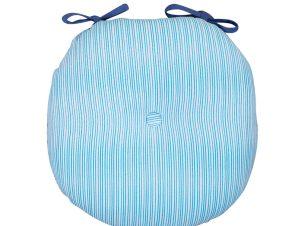 Μαξιλάρι Καρέκλας 40×40 Nef Nef Blue Fishes Way Blue