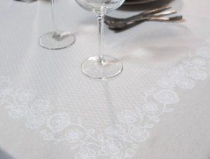 Πετσέτες Φαγητού (Σετ 4 Τμχ) 43X43 Teoran Lace 1