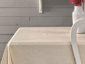 Πετσέτες Φαγητού (Σετ) 45×45 Sally Palamaiki Festozi Ivory